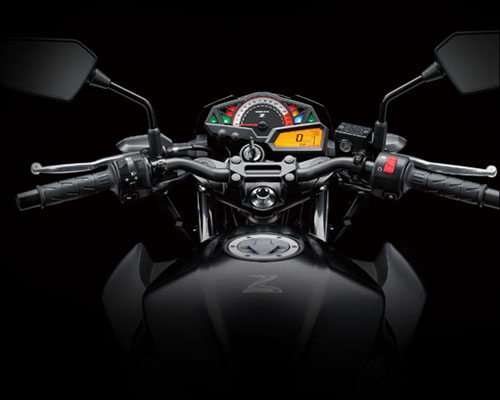 Kawasaki Z250 buka-bukaan specs dan features (6/6)