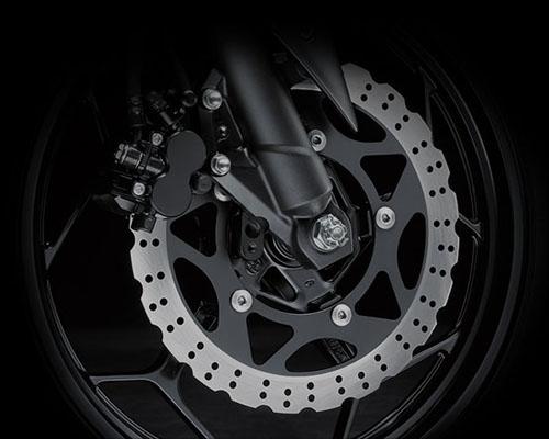 Kawasaki Z250 buka-bukaan specs dan features (5/6)